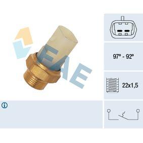 2000 Fiat Seicento 187 1.1 Temperature Switch, radiator fan 37710
