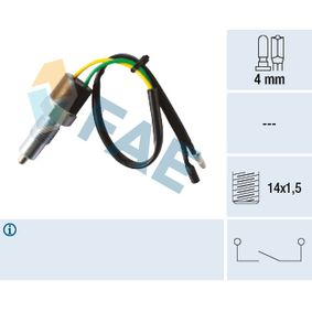 Включвател, светлини за движение на заден ход 40580 25 Хечбек (RF) 2.0 iDT Г.П. 2003
