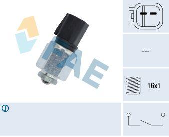 FAE  40595 Interruptor, piloto de marcha atrás Número de polos: 2polos