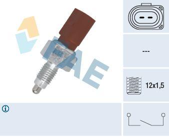 FAE  40675 Interruptor, piloto de marcha atrás Número de polos: 2polos
