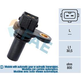 FAE Drehzahlsensor, Motormanagement 79008 für AUDI 80 (8C, B4) 2.8 quattro ab Baujahr 09.1991, 174 PS