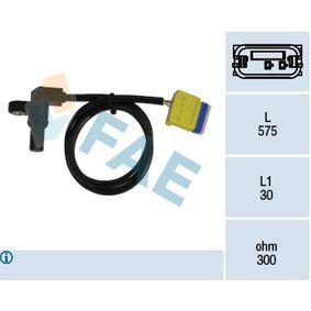 Sensor de Velocidad RENAULT MEGANE II (BM0/1_, CM0/1_) 1.6 16V de Año 01.2006 112 CV: Sensor de revoluciones, caja automática (79223) para de FAE