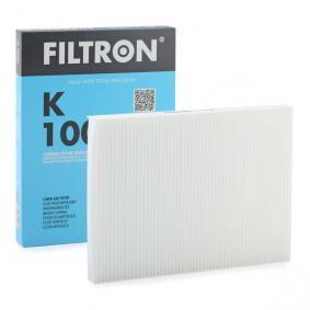 Innenraumfilter VW PASSAT Variant (3B6) 1.9 TDI 130 PS ab 11.2000 FILTRON Filter, Innenraumluft (K1006) für