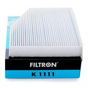 Regelung und Steuerung für VW TOURAN (1T1, 1T2) 1.9 TDI 105 PS ab Baujahr 08.2003 FILTRON Filter, Innenraumluft (K1111) für