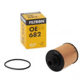 Filtro olio (OE682) per per Filtro Olio FIAT GRANDE PUNTO (199) 1.3 D Multijet dal Anno 10.2005 75 CV di FILTRON