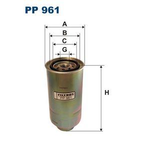 Recherche d'un article par graphique NISSAN PATROL GR I (Y60, GR) D (Y60GR) de Année 11.1988 116 CH: Filtre à carburant (PP961) pour des FILTRON