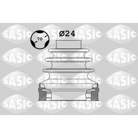 SASIC Faltenbalgsatz, Antriebswelle 1906025 für AUDI A4 Cabriolet (8H7, B6, 8HE, B7) 3.2 FSI ab Baujahr 01.2006, 255 PS