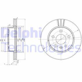 Bremsscheibe Bremsscheibendicke: 22mm, Lochanzahl: 5, Ø: 276mm mit OEM-Nummer A638 421 01 12