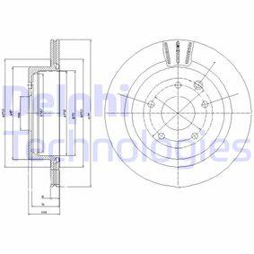 Bremsscheibe Bremsscheibendicke: 18mm, Ø: 297mm mit OEM-Nummer 4320620U00