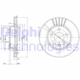 Bremsscheibe Bremsscheibendicke: 24mm, Lochanzahl: 5, Ø: 280mm mit OEM-Nummer 701.615.301F