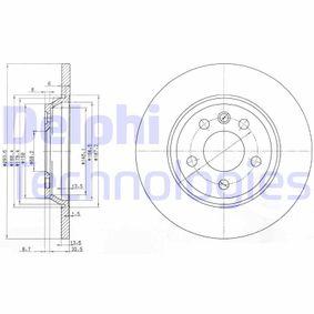Bremsscheibe Bremsscheibendicke: 14mm, Lochanzahl: 5, Ø: 294mm mit OEM-Nummer 7D0.615.601A