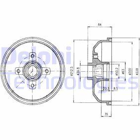 Bremstrommel Art. Nr. BF293 120,00€