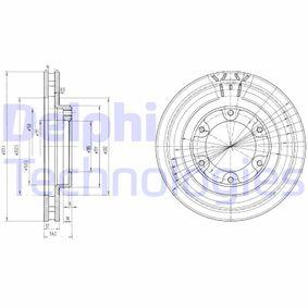 Bremsscheibe Bremsscheibendicke: 32mm, Lochanzahl: 6, Ø: 312mm mit OEM-Nummer 43512-60090