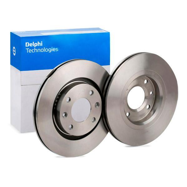 DELPHI  BG3620 Bremsscheibe Bremsscheibendicke: 22mm, Lochanzahl: 4, Ø: 266mm