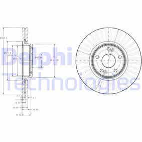 Bremsscheibe Bremsscheibendicke: 26mm, Lochanzahl: 5, Ø: 300mm mit OEM-Nummer 8671016878