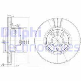 Bremsscheibe Bremsscheibendicke: 26mm, Ø: 300mm mit OEM-Nummer 1141782