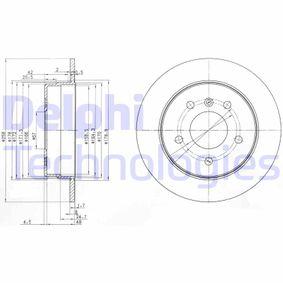 Sensor de Nivel de Combustible MERCEDES-BENZ CLASE A (W168) A 170 CDI (168.008) de Año 07.1998 90 CV: Disco de freno (BG3710) para de DELPHI
