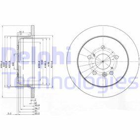 Mittelschalldämpfer für TOYOTA Avensis Verso 2.0 (ACM20