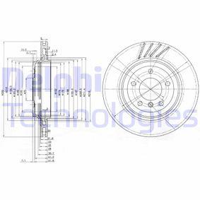 Bremsscheibe Bremsscheibendicke: 22mm, Lochanzahl: 5, Ø: 320mm mit OEM-Nummer 3420 1166 073