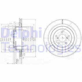 Bremsscheibe Bremsscheibendicke: 18mm, Lochanzahl: 5, Ø: 290mm mit OEM-Nummer 26700AE081