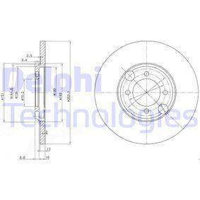 Bremsscheibe Bremsscheibendicke: 13mm, Lochanzahl: 4, Ø: 264mm mit OEM-Nummer C46 113