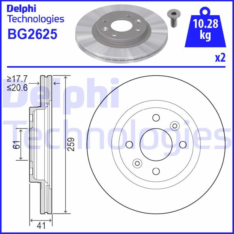 DELPHI BG2625 EAN:5012759426067 Shop
