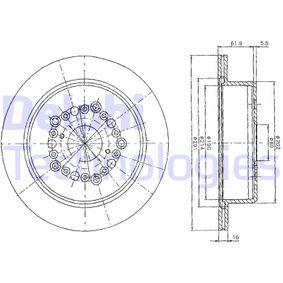 Bremsscheibe Bremsscheibendicke: 24mm, Ø: 254mm mit OEM-Nummer 5025 610