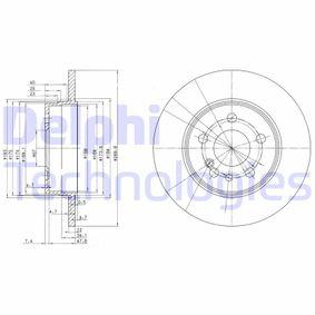 Bremsscheibe Bremsscheibendicke: 12mm, Lochanzahl: 5, Ø: 290mm mit OEM-Nummer 1404230612