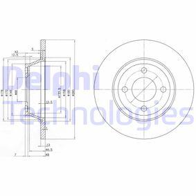 Bremsscheibe Bremsscheibendicke: 13mm, Ø: 280mm mit OEM-Nummer 8A0 615 301