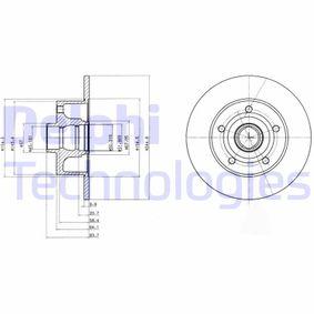 Hochleistungs-Bremsscheibe für AUDI A4 B5 Avant (8D5) 1