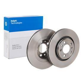 Bremsscheibe Bremsscheibendicke: 22mm, Lochanzahl: 5, Ø: 280mm mit OEM-Nummer 1J0615301P