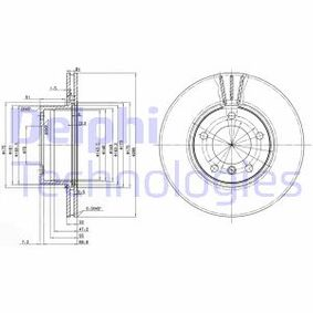 Bremsscheibe Bremsscheibendicke: 22mm, Lochanzahl: 5, Ø: 296mm mit OEM-Nummer 34 111 164 839