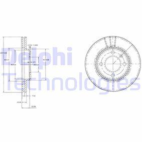Bremsscheibe Bremsscheibendicke: 20mm, Lochanzahl: 4, Ø: 239mm mit OEM-Nummer 321 615 301A