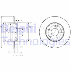 Bremsscheibe Bremsscheibendicke: 25mm, Lochanzahl: 5, Ø: 288mm mit OEM-Nummer A 210 421 2412 64