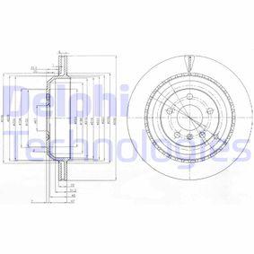 Спирачен диск BG4030 M-класа (W164) ML 320 CDI 3.0 4-matic (164.122) Г.П. 2006
