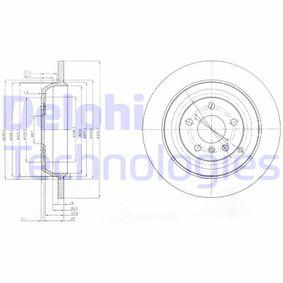 Спирачен диск BG4031 M-класа (W164) ML 320 CDI 3.0 4-matic (164.122) Г.П. 2005