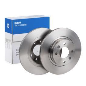Bremsscheibe Bremsscheibendicke: 12mm, Lochanzahl: 4, Ø: 259mm mit OEM-Nummer 40 20 653 45R