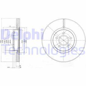 Bremsscheibe BG4056 KUGA 2 (DM2) 2.0 TDCi 4x4 Bj 2016