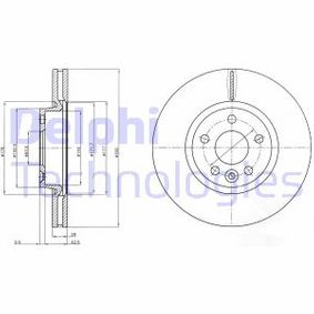 Bremsscheibe Bremsscheibendicke: 28mm, Lochanzahl: 5, Ø: 300mm mit OEM-Nummer 1514427
