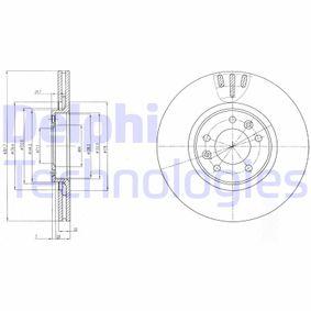 Bremsscheibe Bremsscheibendicke: 22mm, Ø: 302mm mit OEM-Nummer 9687990780