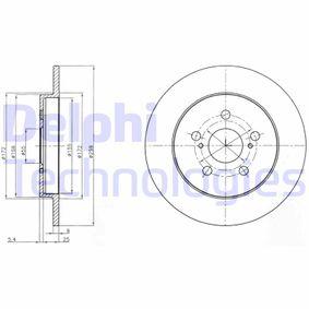 Bremsscheibe Bremsscheibendicke: 9mm, Ø: 259mm mit OEM-Nummer 42431 12 310