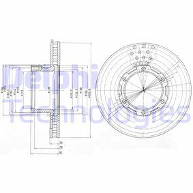 Bremsscheibe Bremsscheibendicke: 30mm, Lochanzahl: 6, Ø: 304mm mit OEM-Nummer 669 421 06 12