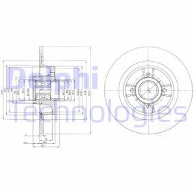 Bremsscheibe BG9029RS Scénic 1 (JA0/1_, FA0_) 1.9 dTi Bj 1999
