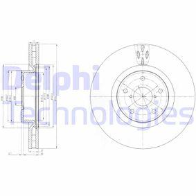 DELPHI  BG9055 Bremsscheibe Bremsscheibendicke: 30mm, Lochanzahl: 5, Ø: 326mm