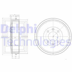 Bremstrommel Trommel-Ø: 274mm mit OEM-Nummer 424724