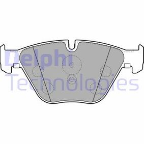Bremsbelagsatz, Scheibenbremse Art. Nr. LP2245 120,00€