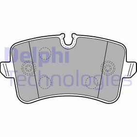 Kit de plaquettes de frein, frein à disque Hauteur 2: 60mm, Hauteur: 58mm, Epaisseur 2: 17mm avec OEM numéro 4G0 698 451 A