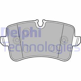Kit de plaquettes de frein, frein à disque N° de référence LP2249 120,00€