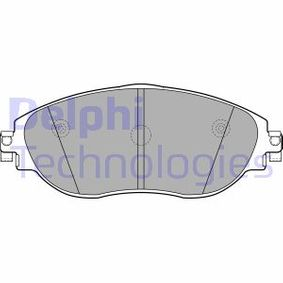 Brake Pad Set, disc brake Height 2: 70mm, Height: 70mm, Thickness 1: 20mm, Thickness 2: 20mm with OEM Number 3C0698151G