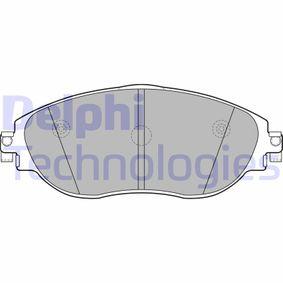 Brake Pad Set, disc brake Article № LP2250 £ 140,00